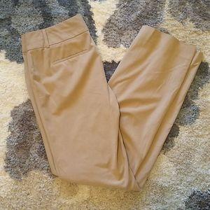 Tan Trousers, Size 2.